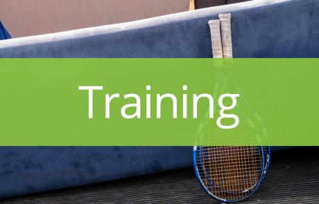 Tennis en studeren - Training